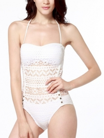 Best Selling 2 Colors Hollow Out Straps One Piece Bikini