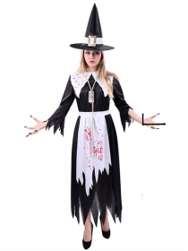 Halloween Bloody Witch Costumes
