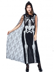 Halloween Fashion Ghost Quuen Costumes
