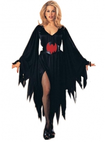 Halloween Fashion Flare Sleeve Bat Costumes