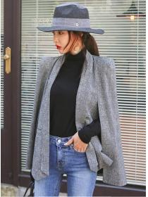Korea Hot Selling 2 Colors Cape Short Coat