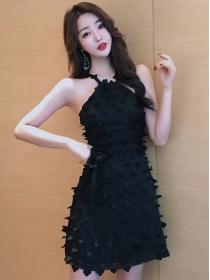 Fashion Sexy Off Shoulder Petals Club Dress