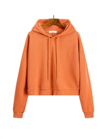 All Match 6 Colors Short Loosen Cotton Hoodies