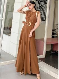 Brand Lady Fashion High Waist Wide-leg Long Jumpsuits