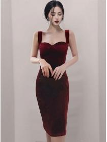 Grace Wholesale Skinny Straps Women Dress