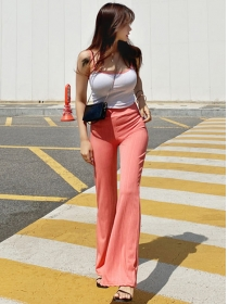 Wholesale Summer Knit Camisole with Slim Long Pants