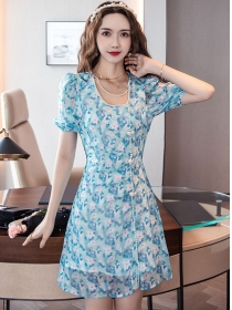 Lovely Wholesale 3 Colors Beads Collar Flowers Dress